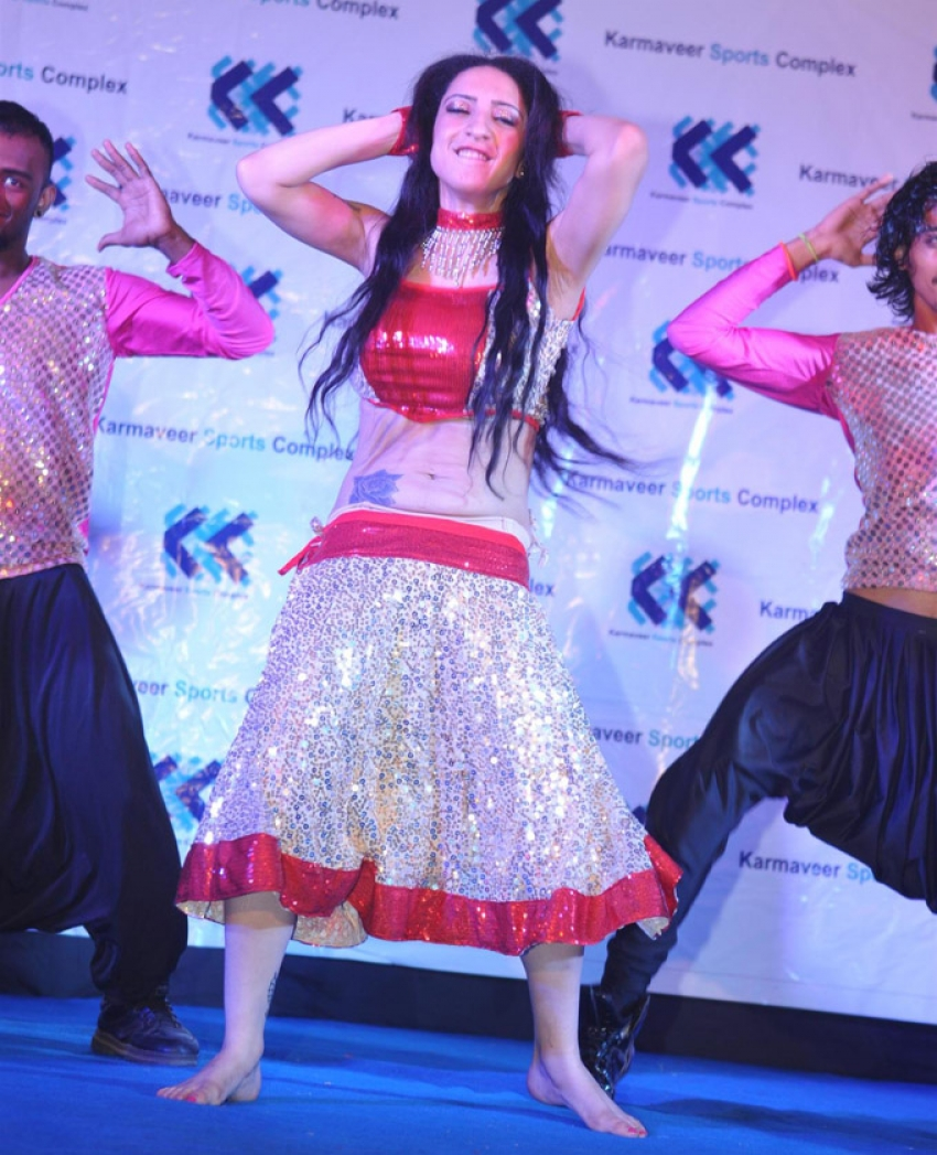 Shanti Dynamite performs at Karmaveer Sports Complex Photos