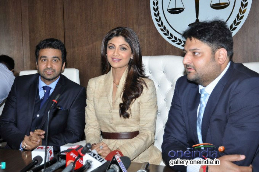 Shilpa Shetty launches Satyug Gold Photos