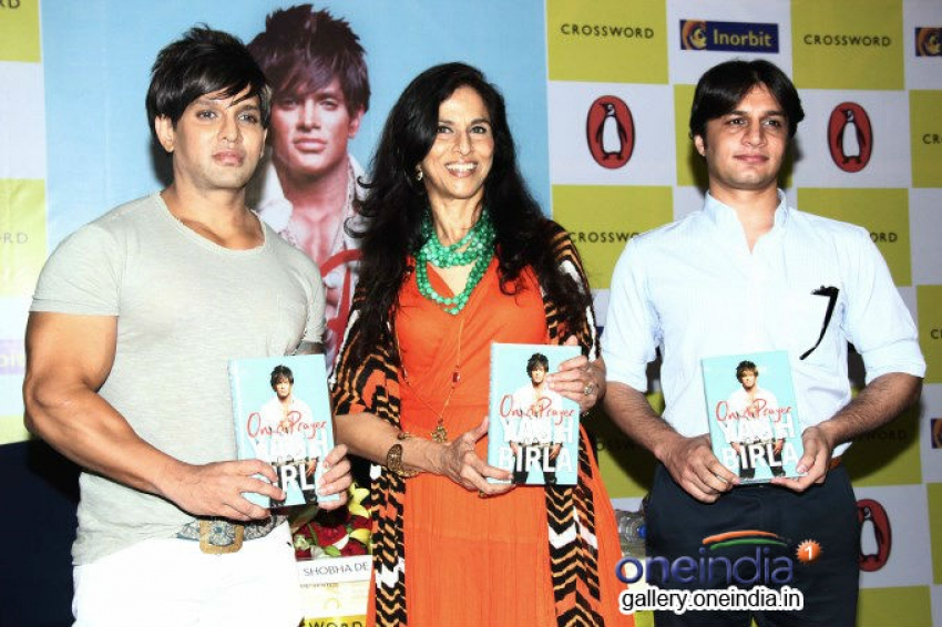 Shobhaa De launches Yash Birla's book On A Prayer Photos
