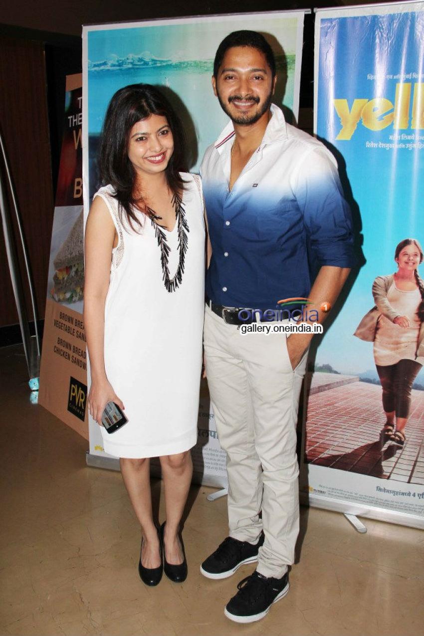 Amrita Rao, Dia Mirza and Karishma at Yellow film screening Photos