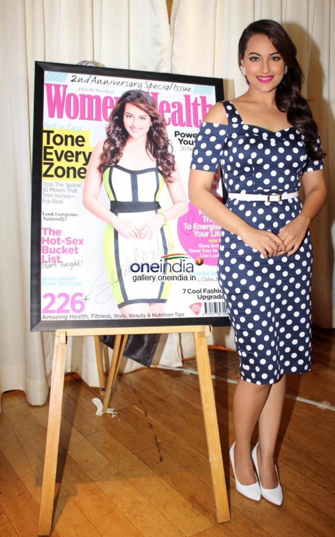 Sonakshi Sinha unveils Women's Health Magazine Photos