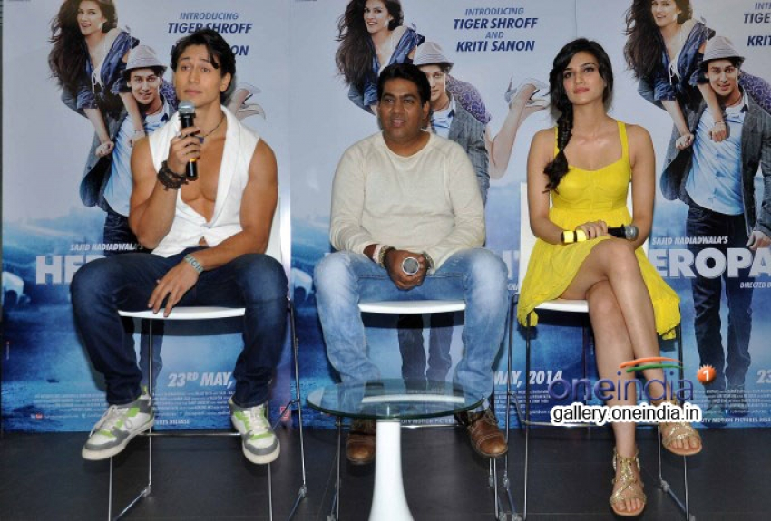 Launch of Whistle Baja song from Heropanti Photos