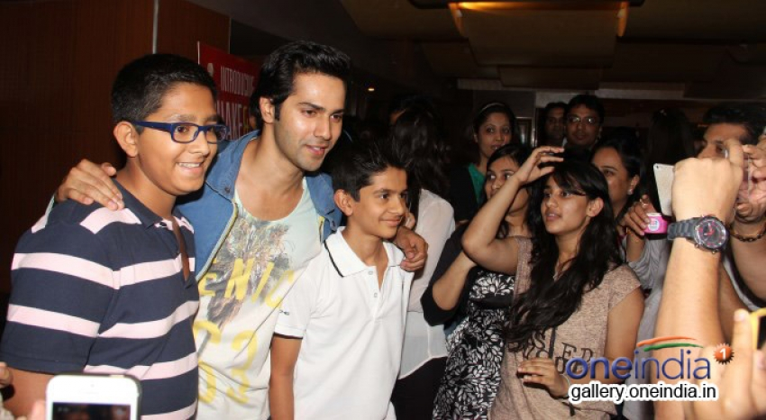 Varun Dhawan meet his fans at PVR Juhu Photos