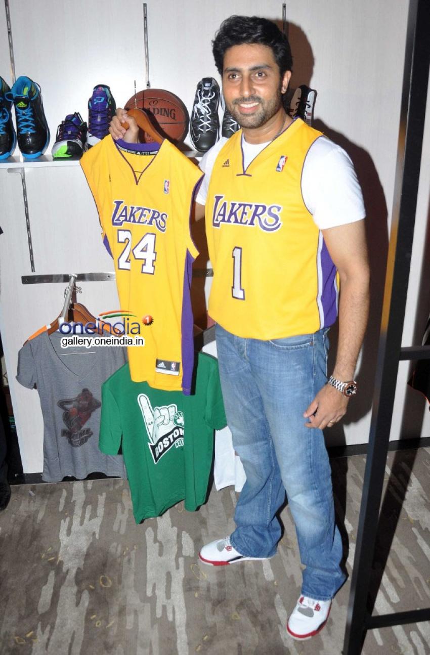 Abhishek Bachchan launches NBA Store Photos