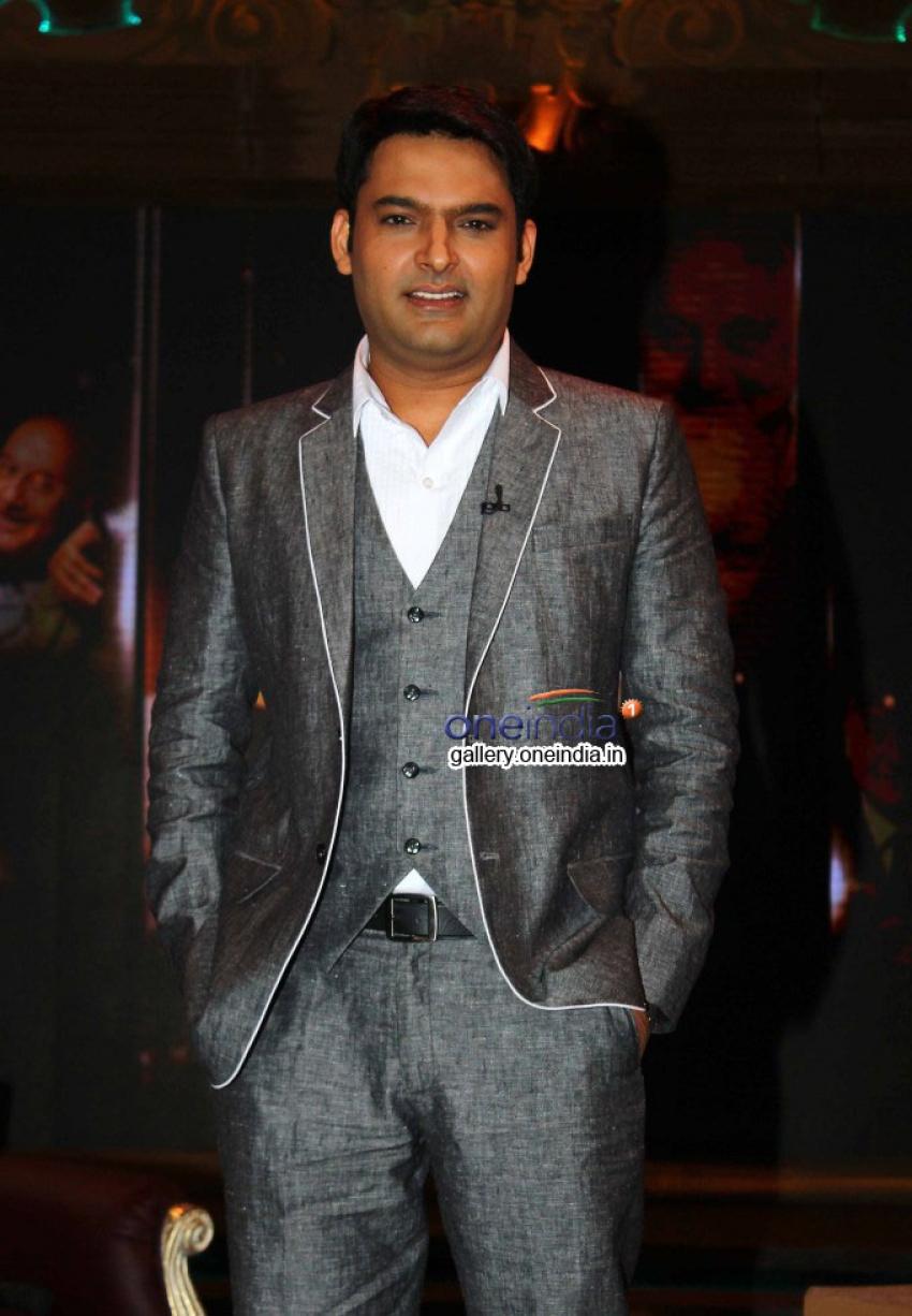 Kapil Sharma at Anupam Kher's Kuch Bhi Ho Sakta Show Photos