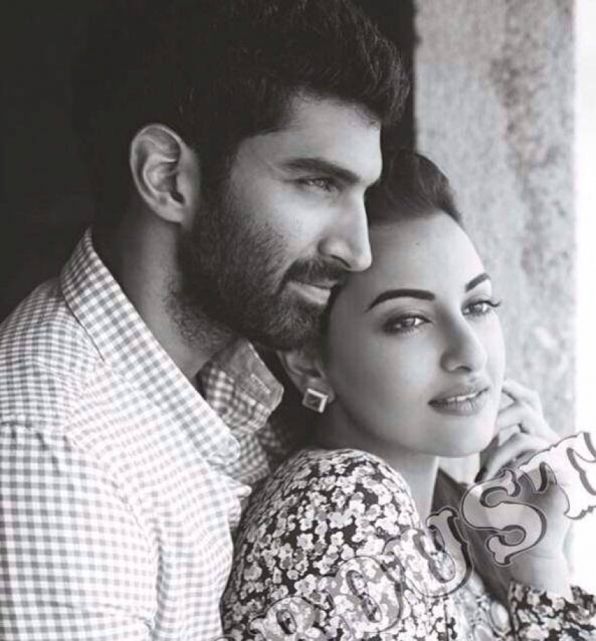 Aditya and Sonakshi on the covers of Stardust May 2014 Photos