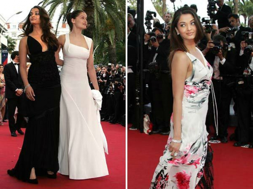 Aishwarya Rai 13 Years At Cannes Photos