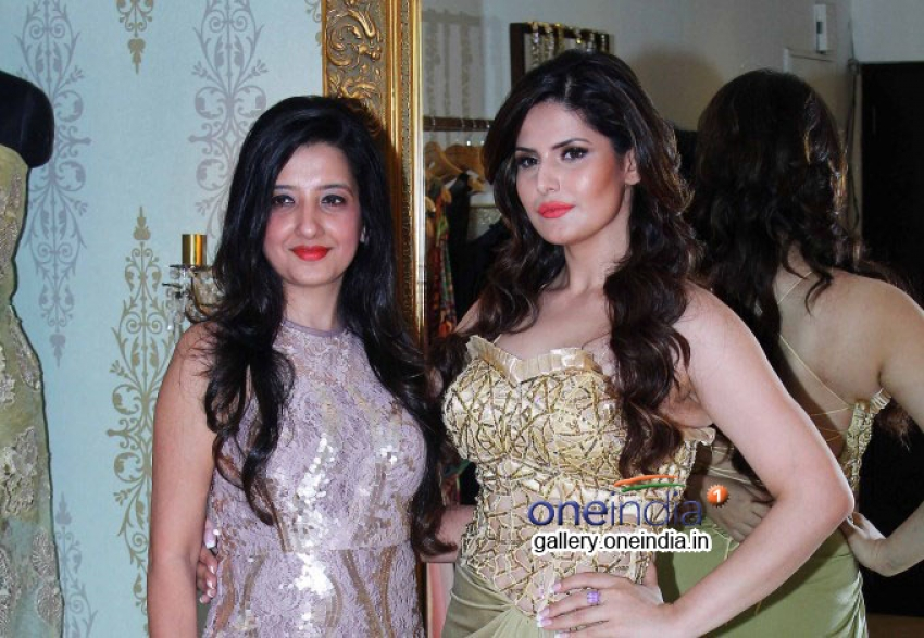Amy Billimoria displays her eco friendly collection Photos