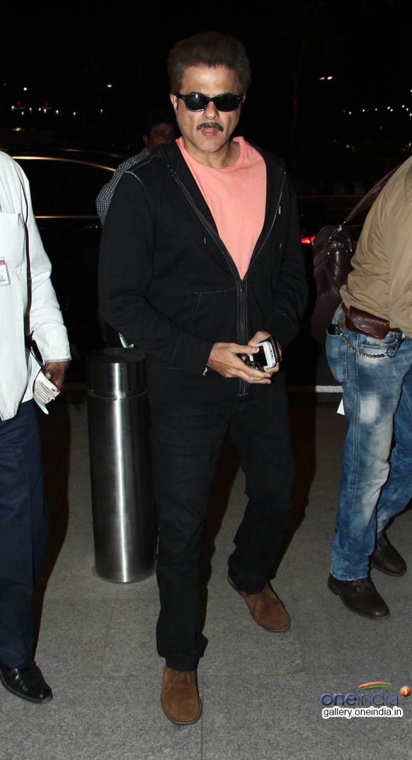 Anil Kapoor, Priyanka Chopra & Ranvir Singh Leaves to Cannes 2014 Photos