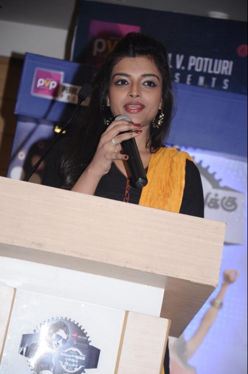 Vallavanukku Pullum Ayudham Press Meet Photos