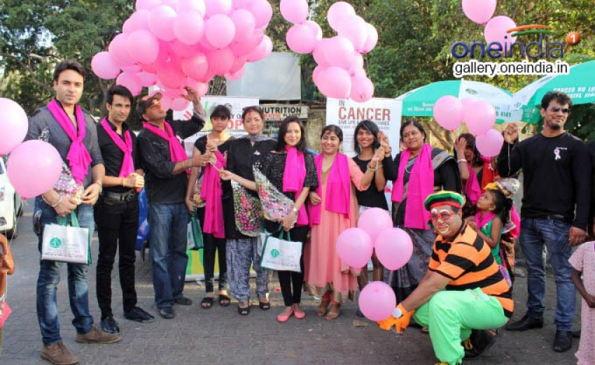 Celebs Road March Against Breast Cancer Photos