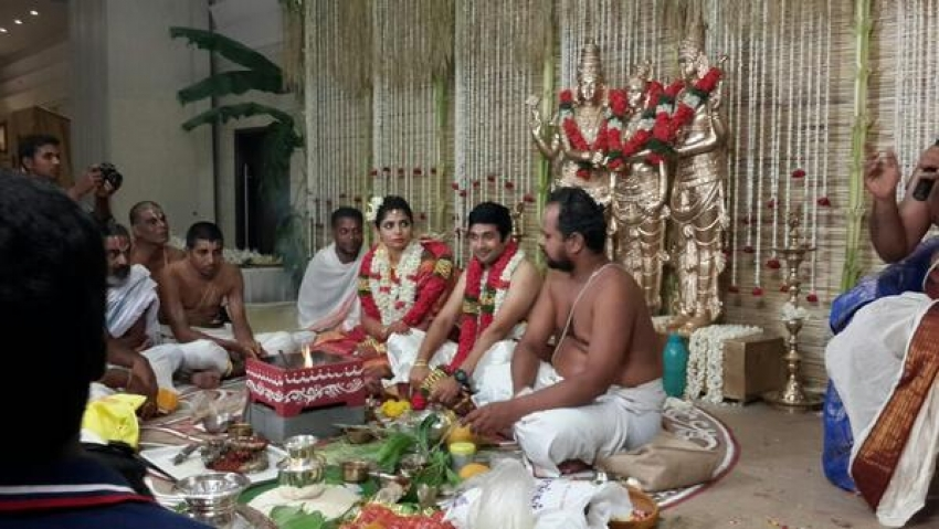 Chinmayi weds Rahul Photos