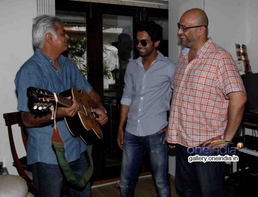 Raju Singh's surprise for buddy Hansal Mehta Photos