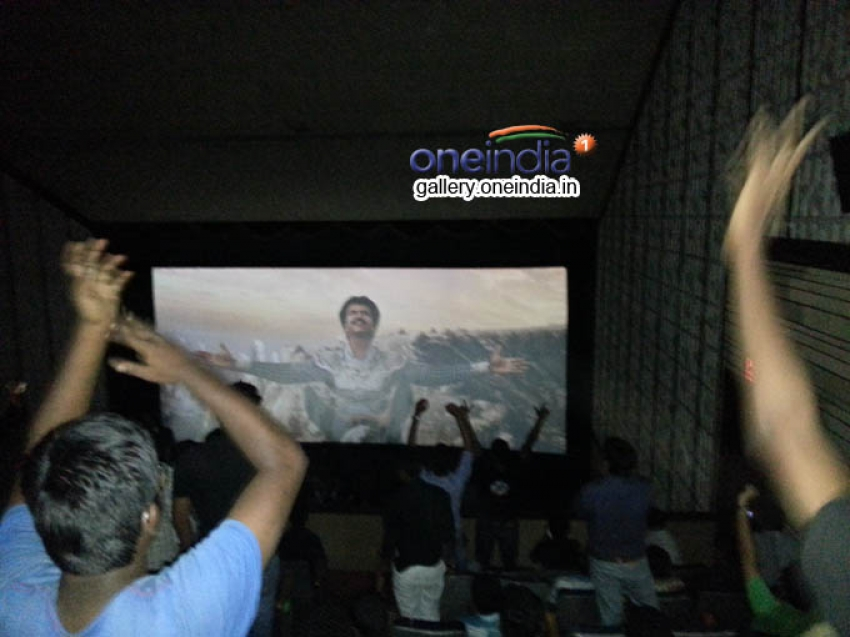 Fans Celebration for Kochadaiyaan Movie Photos