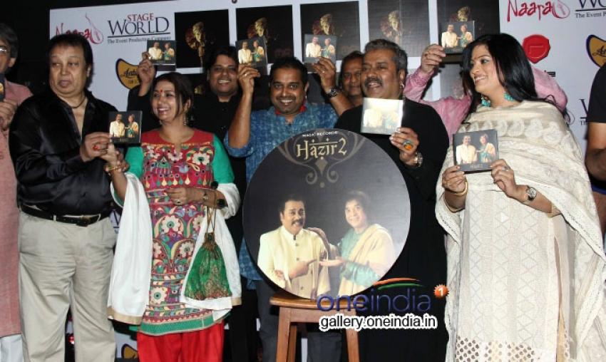 Hazir 2 Album Launched Photos