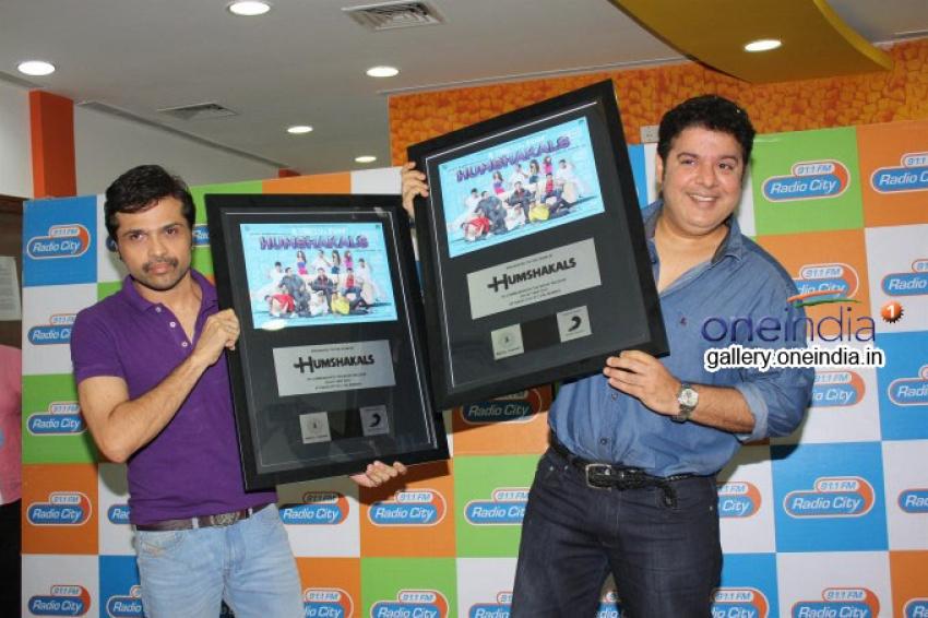 Humshakals Music Premier at Radio City Office Photos