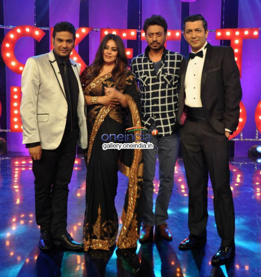 Irfan Khan on the sets of NDTV Ticket to Bollywood Photos