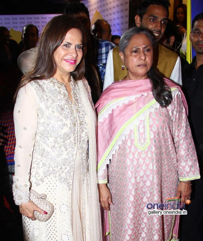 Jaya Bachchan attends DVAR luxury multi-designer store launch Photos