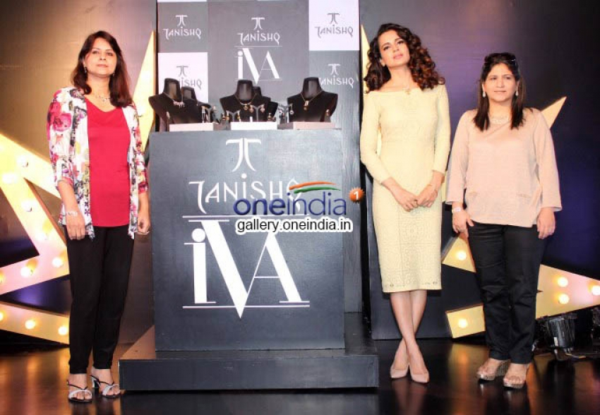 Kangna Ranaut launches Tanishq IVA 2 collection Photos