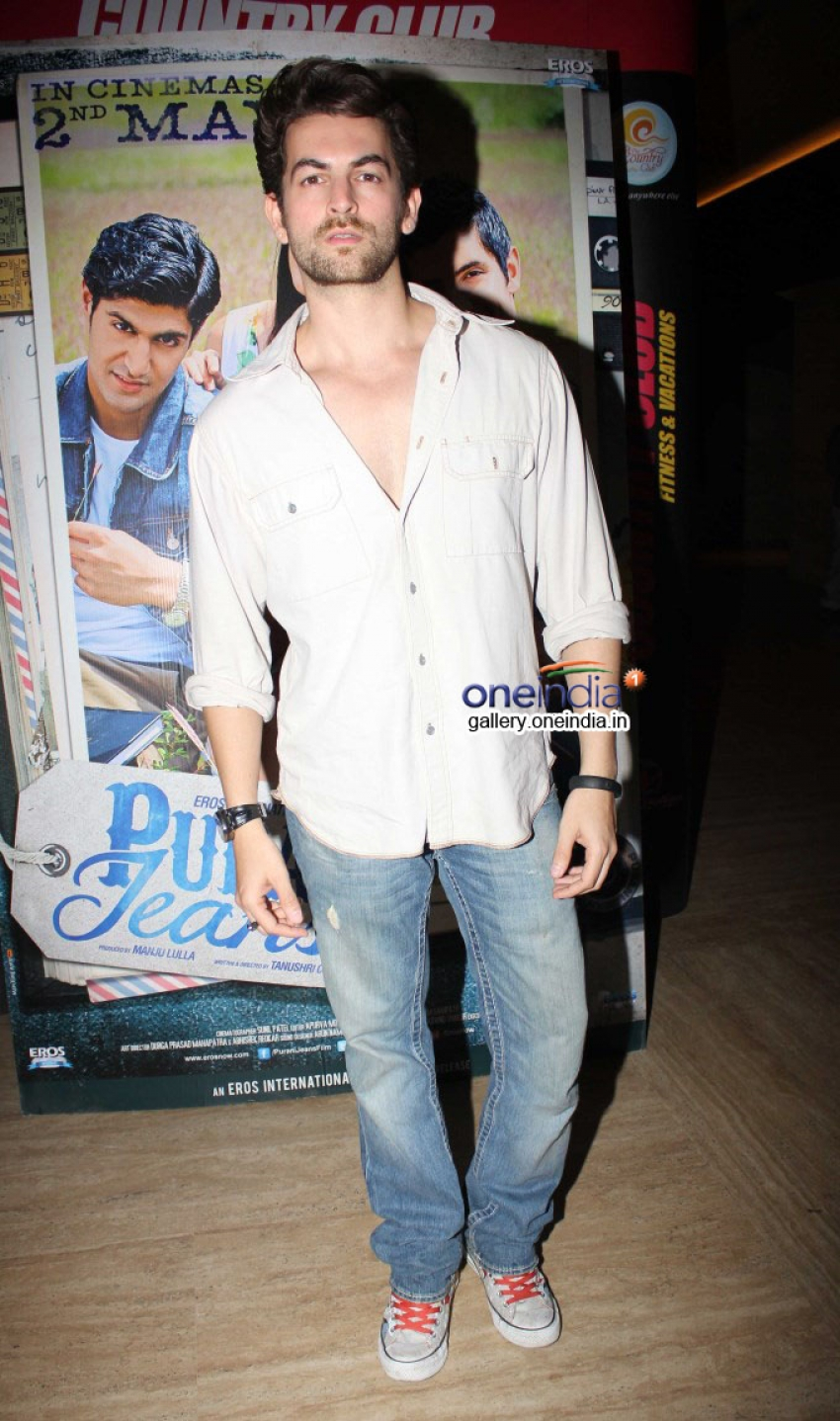 Neil Nitin Mukesh attends Purani Jeans special screening Photos