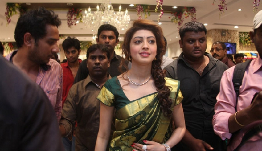 Pranitha at RS Brothers Shopping Mall Opening Photos