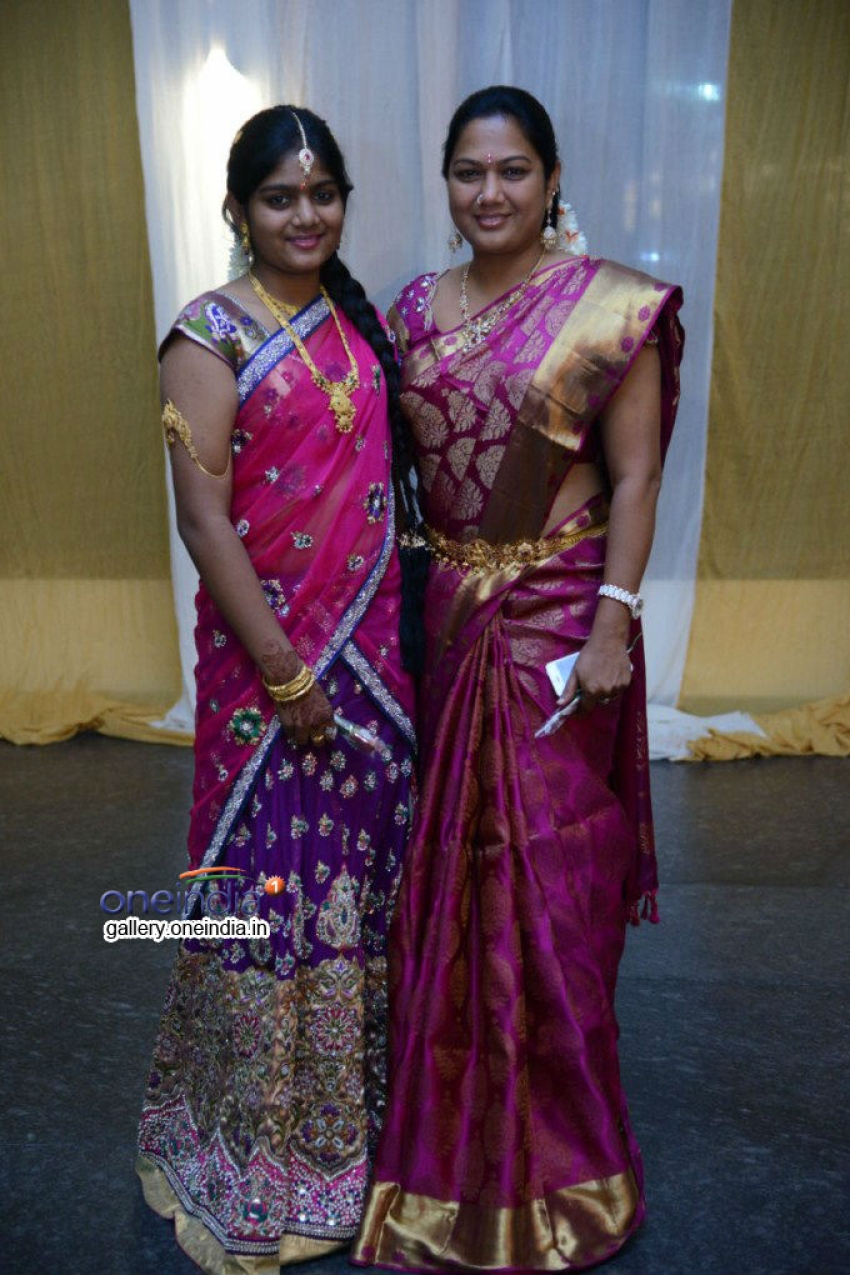 Raja Ravindra Daughter Wedding Photos