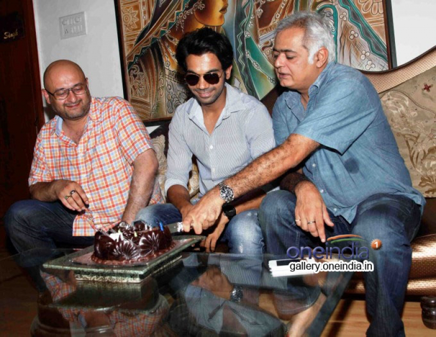 Raju Singh's surprise for buddy Hansal Mehta Photos