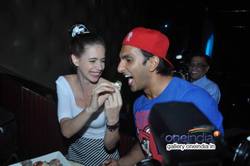Ranveer Singh, Kalki Kochelin at The Bartender album LAUNCH Photos