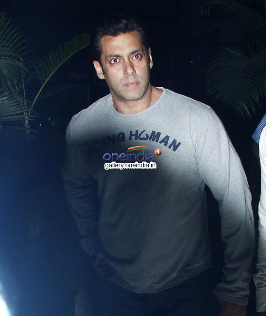 Salman Khan Arrives back from Modi Swearing Photos