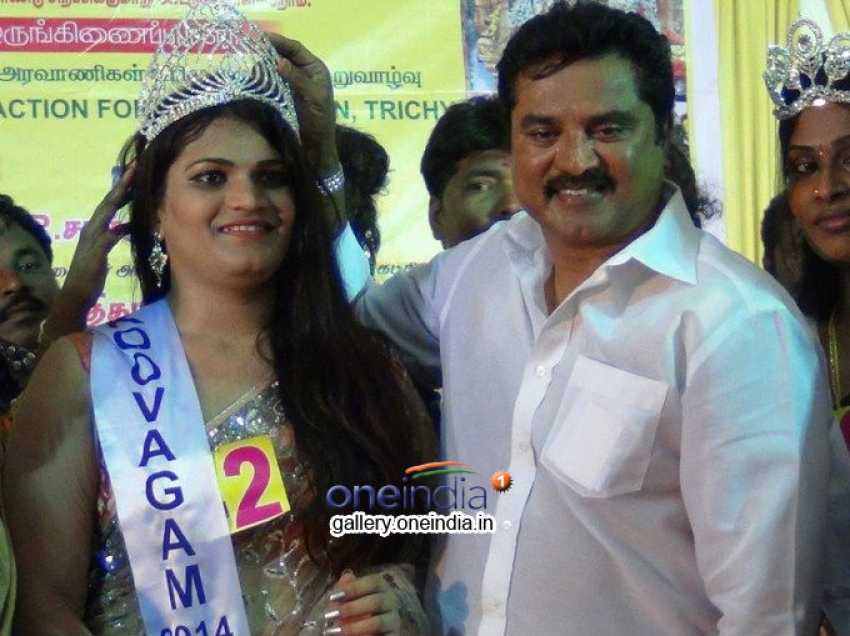 Andhra Participant wins Koovagam Beauty Show Photos