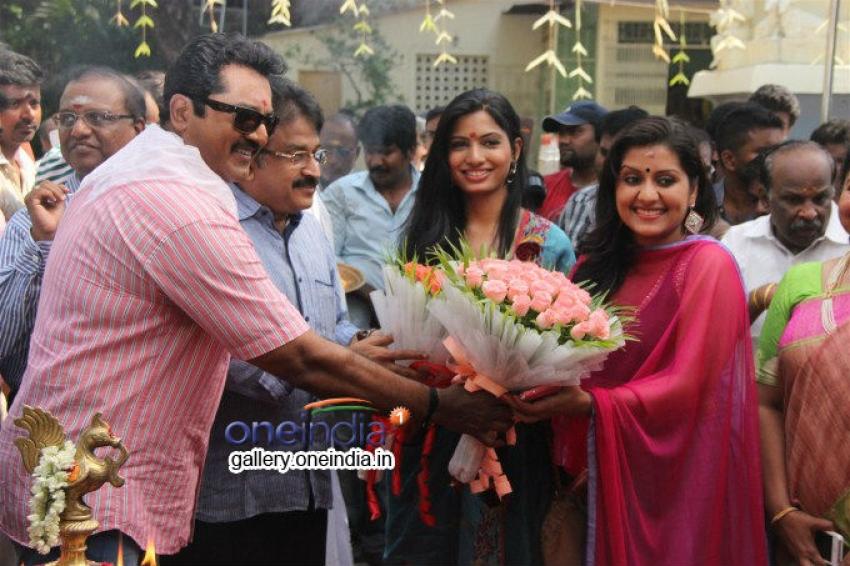 Sandamarutham Movie Launch Photos