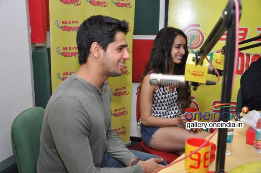 Ek Villian Cast at Radio City 91.1 FM Photos