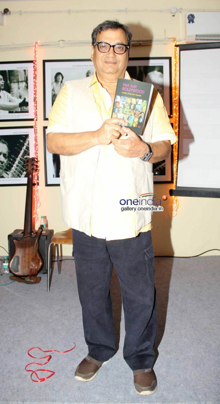 Subhash Ghai at Launch of Whistling Wood Photos
