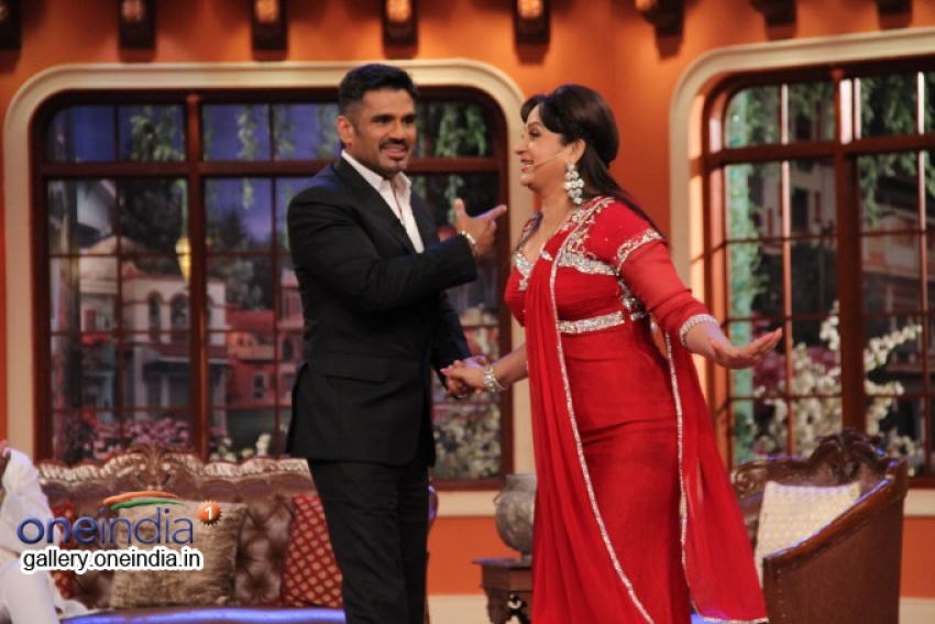 Koyelaanchal film promotion on the sets of Comedy Nights With Kapil Photos