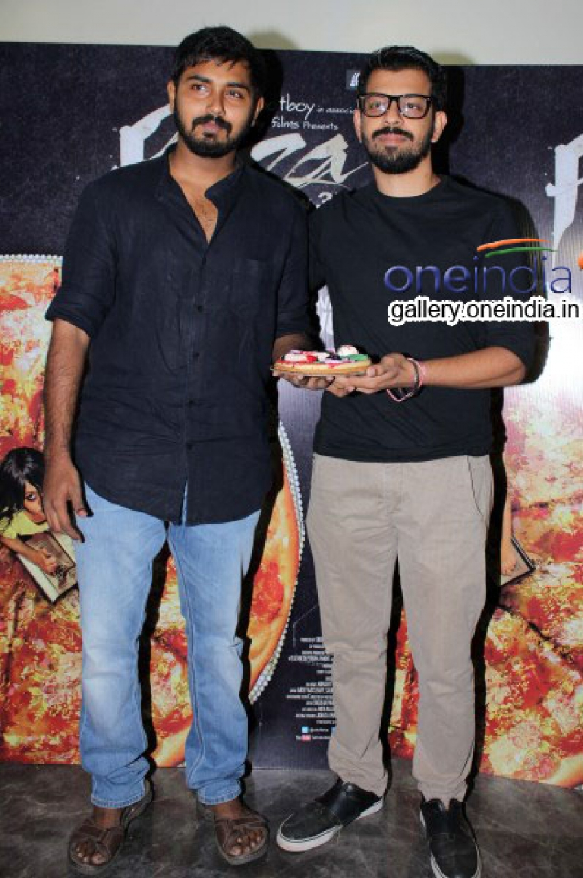 Trailer Launch of Horror Movie Pizza Photos