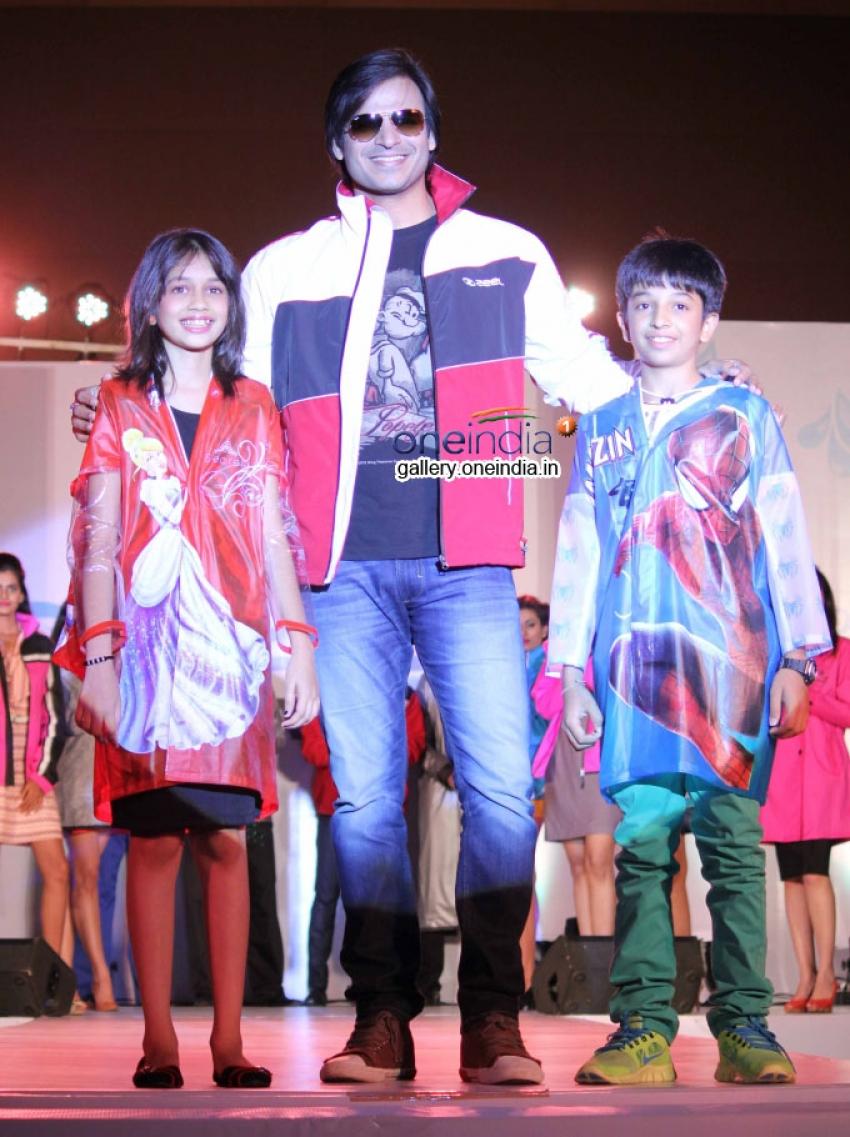 Vivek Oberoi signed up as brand ambassador for Zeel Rainwear Photos