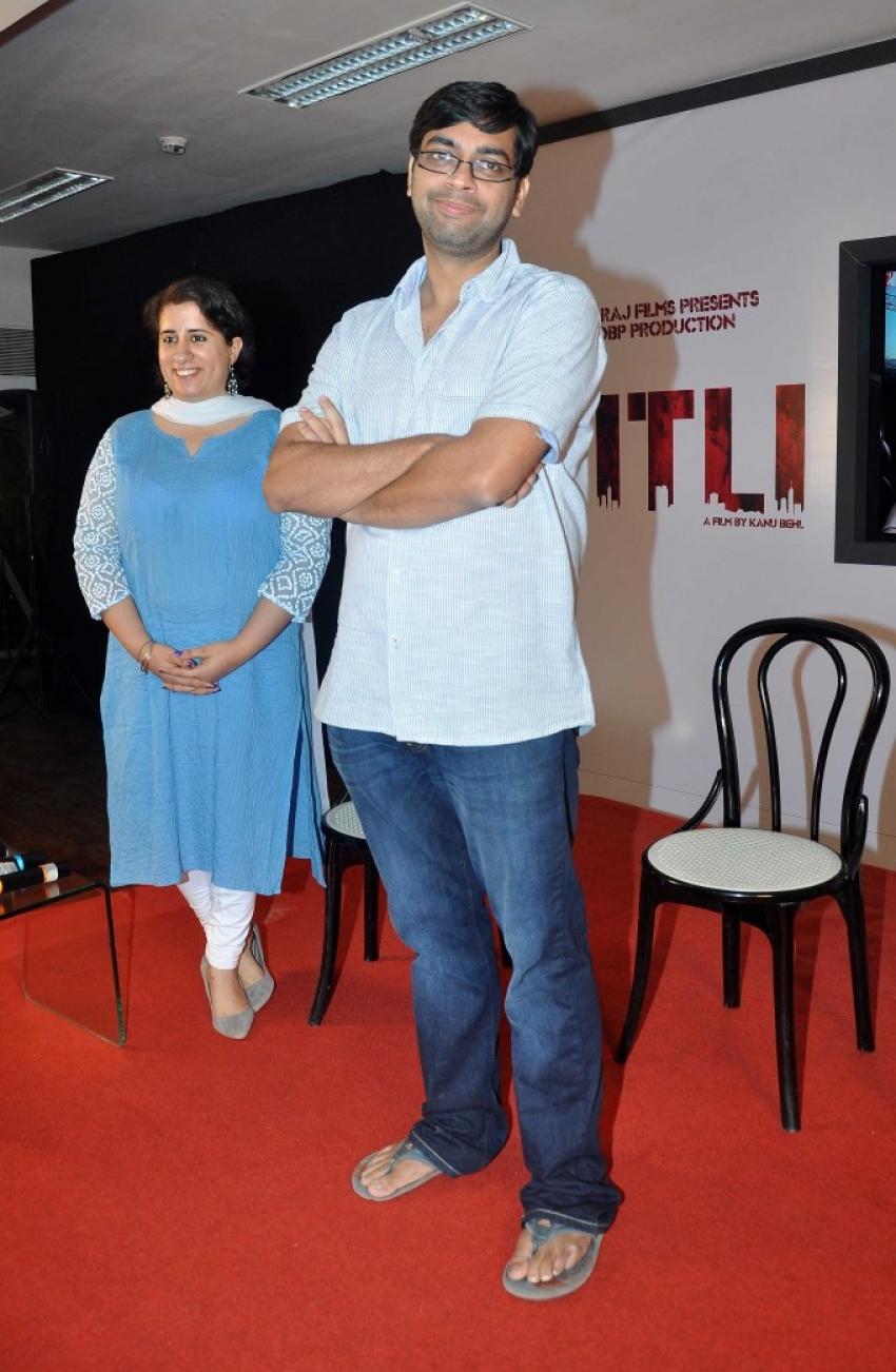 Yash Chopra's Titli Press Meet Photos