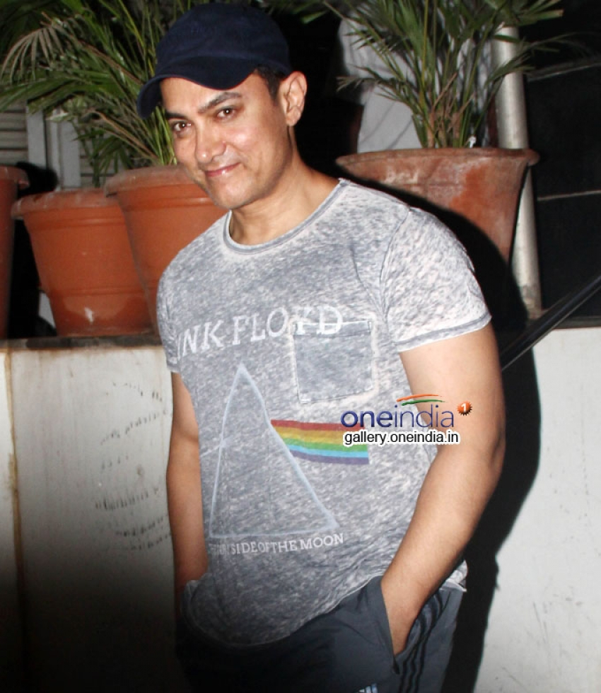 Aamir Khan snapped coming out of pathology hospital Photos