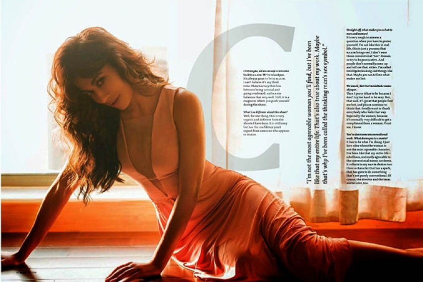 Actress Chitrangada Singh Maxim Photoshoot – MAY 2014 Photos