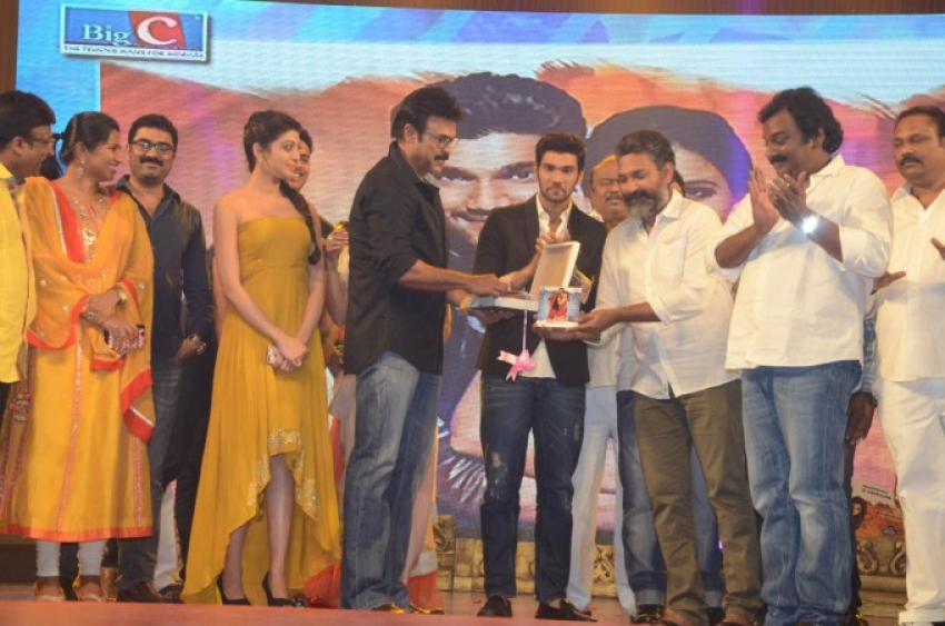 Alludu Sreenu Audio Launch Photos