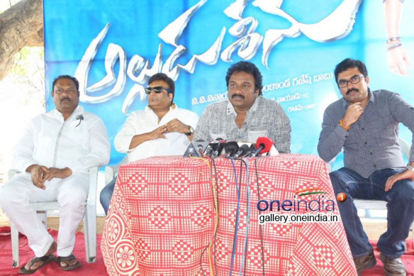 Alludu Sreenu Press Meet Photos