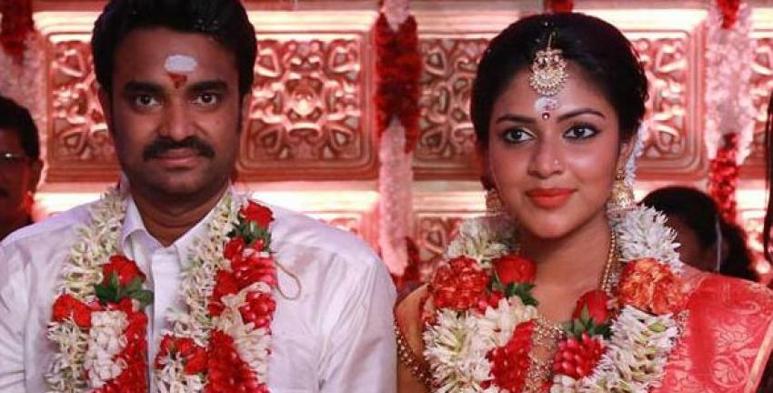 Amala Paul and AL Vijay Marriage Photos