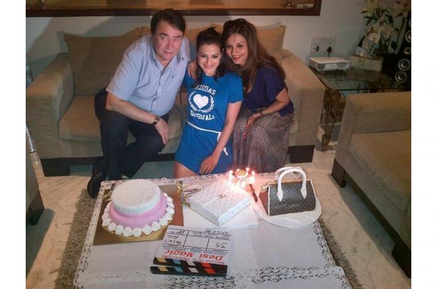 Ameesha Patel Birthday Bash 2014 Photos