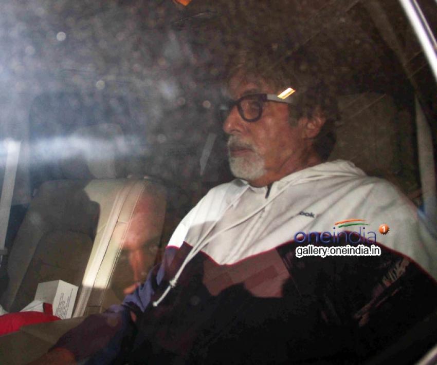 Amitabh Bachchan Snapped at Empire Studio Photos