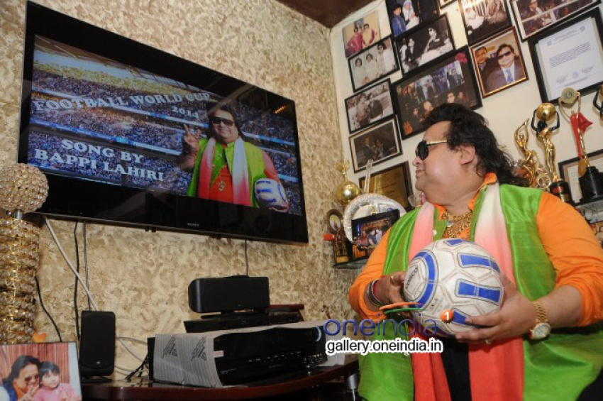 Bappi Lahiri launches 'Life of Football' song and video for FIFA Photos