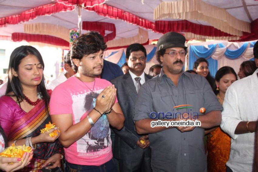 Golden Star Ganesh - Buguri Film Launch Photos