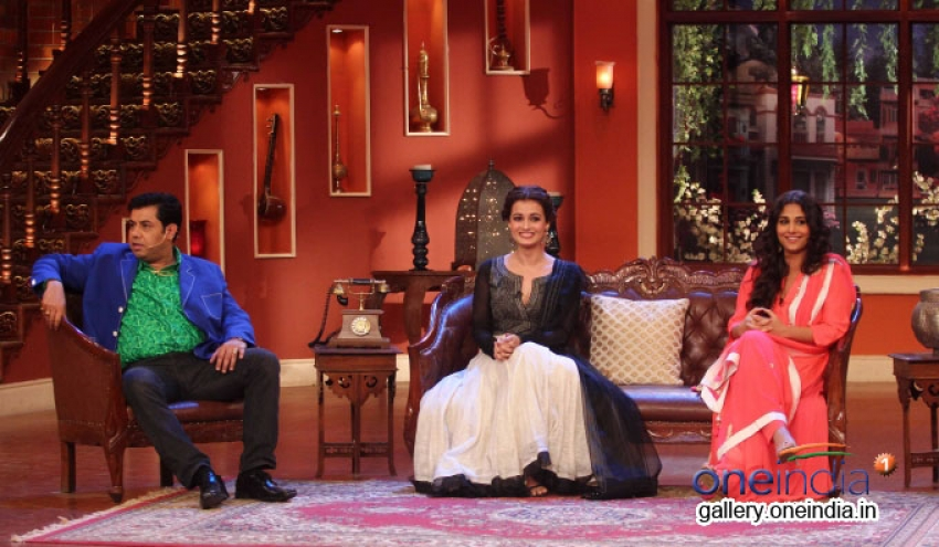 Bobby Jasoos Promotion on the sets of Comedy Nights with Kapil Photos