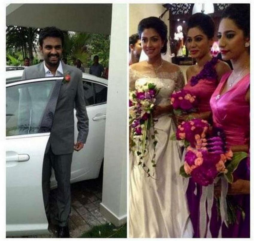 Director Vijay and Amala Paul Engagement Photos
