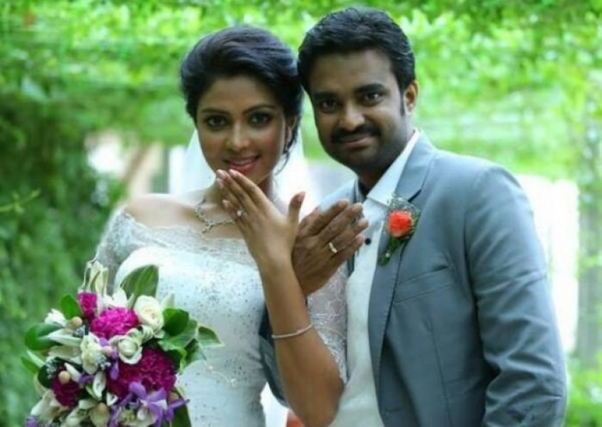 Director Vijay and Amala Paul Engagement Photos