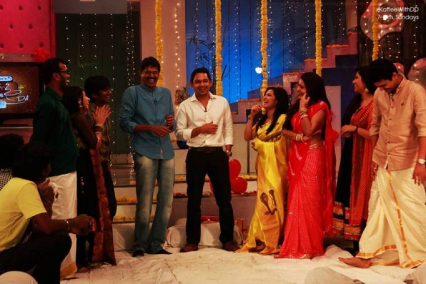 Divyadarshini sangeet Special – Vijay TV Koffee with DD Photos